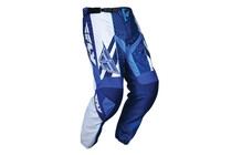 FLY RACING F16 pantalon bleu blanc